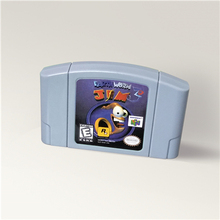 Earthworm Jim 3D For 64 Bit Game Cartridge USA Version NTSC Format