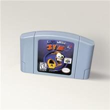 Regenwurm Jim 3D Für 64 Bit Spiel Patrone USA Version NTSC Format