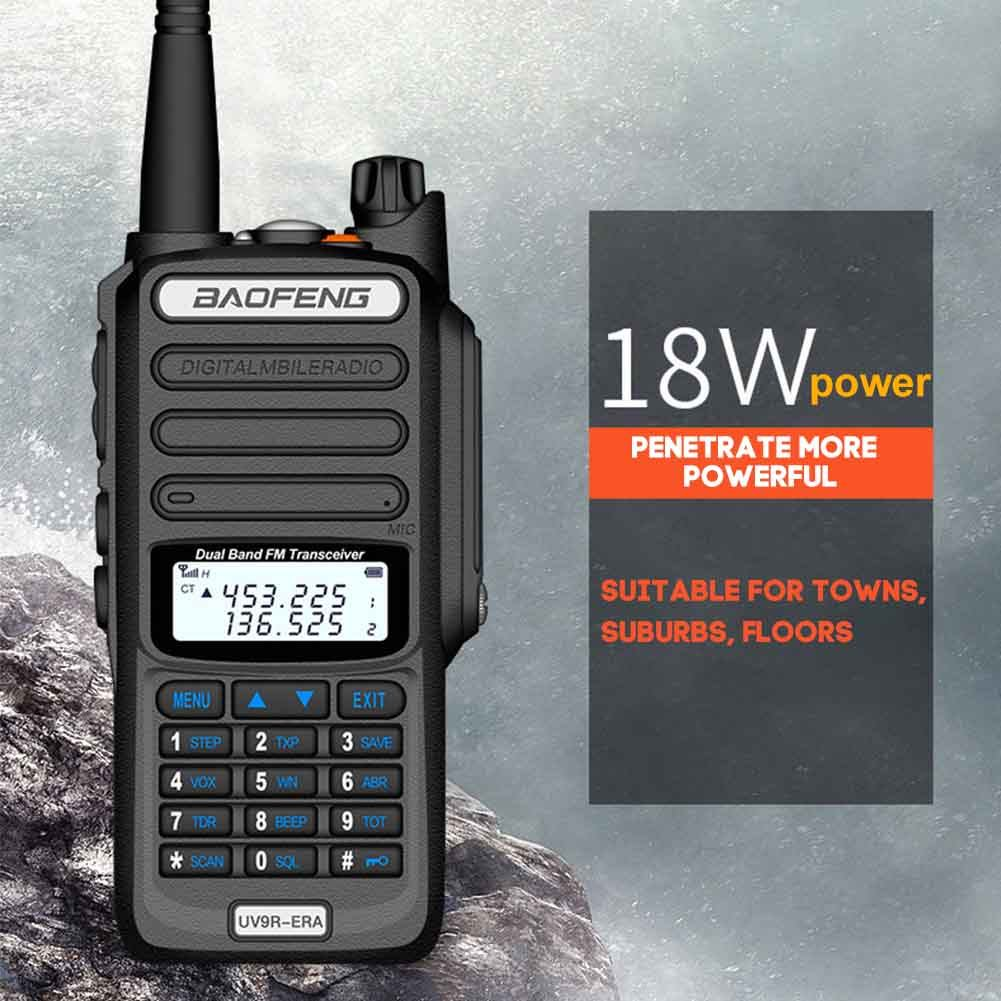 Walkie-Talkie Long Distance 15km Baofeng UHF400-520MH2 Ham Radio HF Transceiver UHF VHF Radio IP68 waterproof