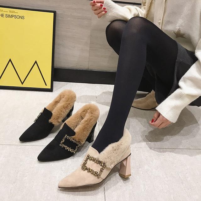New Fashion Shallow Pumps  Woman Shoes  2