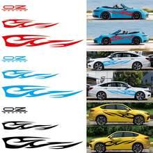 3d chama totem decalques adesivos de carro comprimento total estilo do carro vinil decalque adesivo para carros decoração