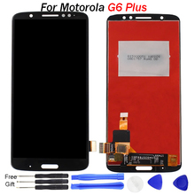 For Motorola Moto G6 PLus Screen Xt1926 LCD Display Screen Digitizer Assembly Replacement For Motorola G6 PLUS LCD Display все цены