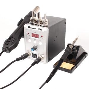 Image 5 - SMD Rework Soldering Station 8586 700W 2 in 1 Digital Display HOT AIR GUN SOLDER Iron 220V / 110V ESD ซ่อมเครื่องมือ