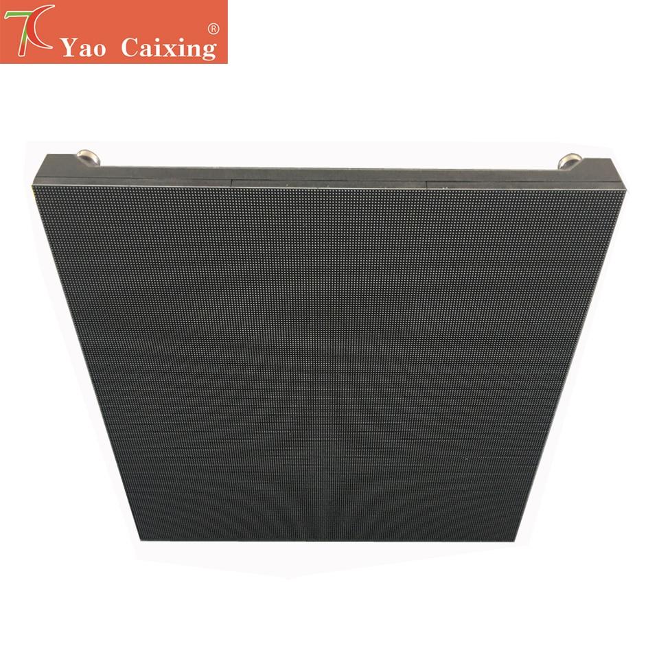 Aliexprss 480*480mm nano composite cabinet led screen hub75 dot matrix  rgb p2.5 indoor high resolutions smd2121 led display tv