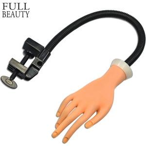 Image 1 - Faux main Flexible Nail Art formation professionnelle pour laffichage outil répété plastique souple dans la pratique prothétique manucure CHND275