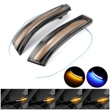 Dynamic LED Light Blinker Sequential Turn Signal Mirror Indicator For Hyundai Elantra Avante MK5 MD UD 2011-2015 for Veloster