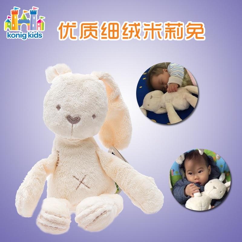New Fashion Soft Stuffed Animals Kids Animal Rabbit Sleeping Cute Cartoon Plush Toy Stuffed Animal Dolls Children Birthday Gift