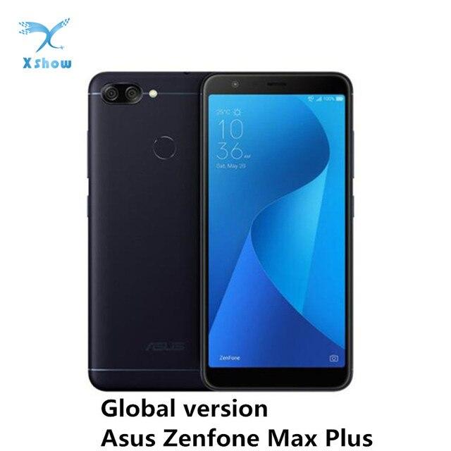 Asus Zenfone Max Plus M1 ZB570TL Smartphone Global Versie Mobiele Telefoon MT6750T 4Gb Ram 64Gb Rom Otg 4130mah Batterij Mobiele Telefoons