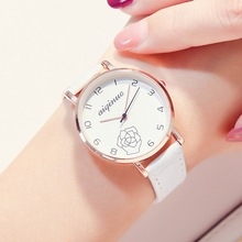 2019 New Quartz Watches Fashion Women Leather Casual Watch L