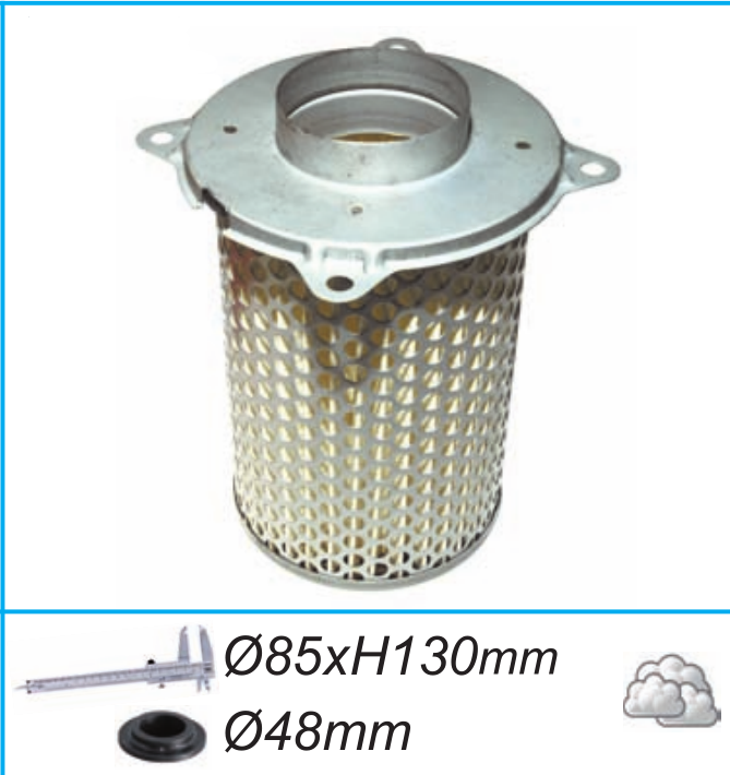 For Suzuki GS500 GV700 GSX1200 Inazuma GV1200 Motorcycle Air Filter Motor Bike Intake Cleaner Pakistan
