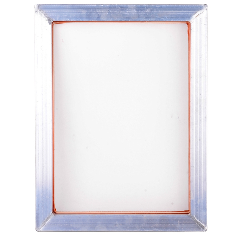 A3 Screen Printing Aluminum Frame 31X41Cm with White 43T Silk Print Polyester Mesh for High-Precision Printed Circuit Boards