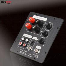 HIFIDIY مكبرات صوت حية 2.1 مكبر صوت لوح مكبر صوت TPA3118 صوت 30 وات * 2 + 60 وات مضخم صوت مع مخرج 2.0 مستقل