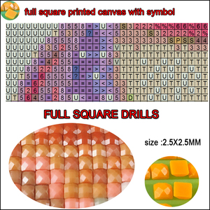 """Image 5 - holy religious,Diamond Painting""""Islamic Muslim Classical""""Full Square 5D Diamond Embroidery Mosaic Quran Calligraphy wall Decor"""