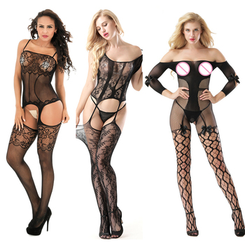 Porno Women Sexy Lingerie Hot Erotic Baby Dolls Dress Teddy Lenceria Mujer Babydoll Underwear Costumes