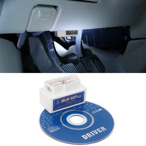 Image 1 - ELM327 V2.1 OB2 Bluetooth Adapter Car Diagnostic Scanner ELM 327 OBD II Reader Diagnostic Tool For OPEL LADA Vesta Granta Niva
