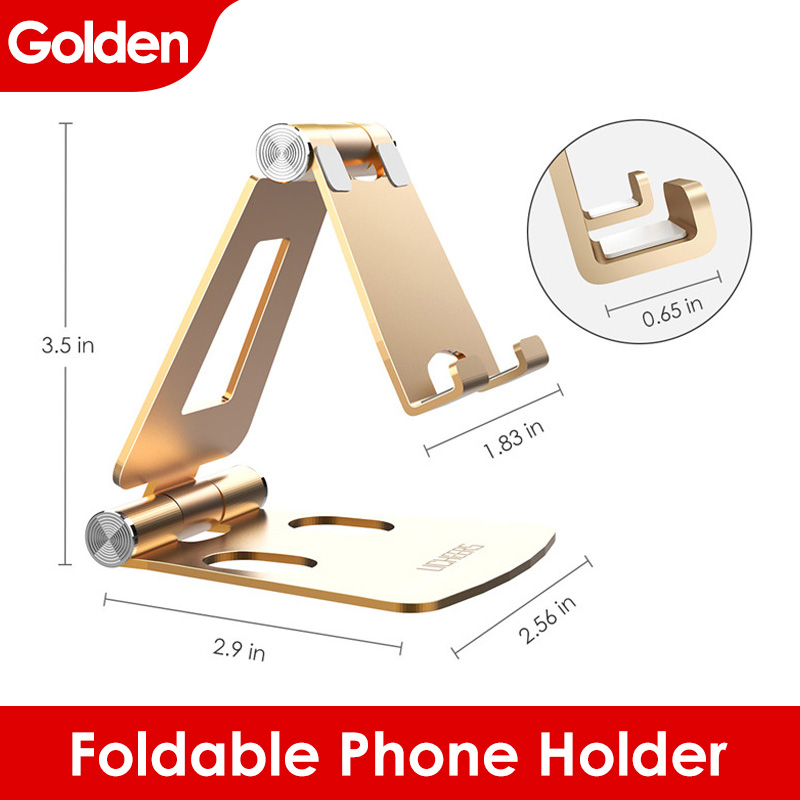 Bảng giá LINGCHEN Phone Holder Stand for Xiaomi mi 9 Metal Phone Holder Foldable Mobile Holder Phone Stand Desk For iPhone 7 8 X XS Max Phong Vũ