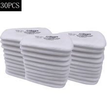 10/20pcs 5N11 Cotton Filters Replaceable Filters For 6200/7502/6800 Gas Dust Mask Accessories