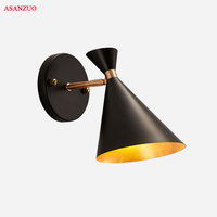 Modern LED Wall Lamps Simple Bedside Lamp New Flexibility Adjustable Wall Lights Reading Light Indoor Lighting E27