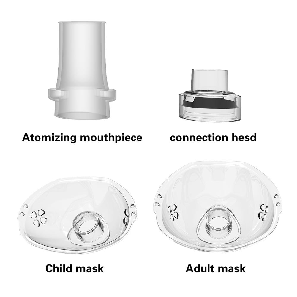 Health Care Mini Handheld portable Inhale Nebulizer silent Ultrasonic inalador nebulizador Children Adult Rechargeable Automizer 5