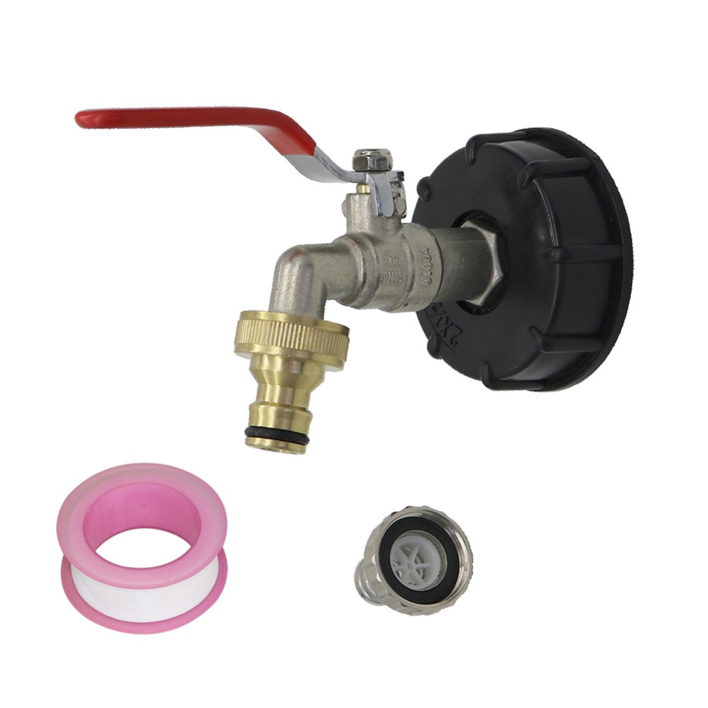 For IBC Water Tank Adapter Garden Hose Connectors Fittings 60mm Tools D0N3