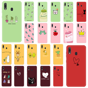Cartoon Lovely Animals Plants Lucky Phone Case For Samsung A71 A51 A10 A20 A30 A40 A50 A70 A60 TPU Cover For Galaxy M20 M30 M40