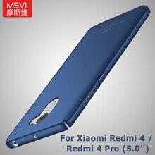 MSVII Cases For Xiaomi Redmi 4 Case Cover