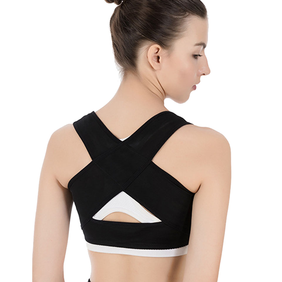 Getinfit Chest Supports for Women Chest Brace Up Belt Posture Corrector Prevent Chest Hunchback Sagging Posture Corsetor