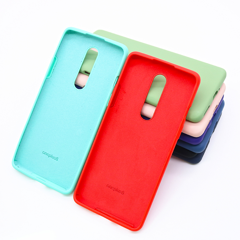 Oneplus 8 Pro Back Cover Silicone Protective Case