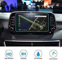 8 polegada Para Hyundai Tucson 2019 protetor de tela de vidro temperado filme tela sensível ao toque de navegação gps do carro exibição película protetora|Molduras interiores|   -