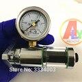 Дизельный VE насос поршневой Плунжер дорожный тестер инструмент с 2.5Mpa прессур манометр для дизельного насоса ремонтный инструмент