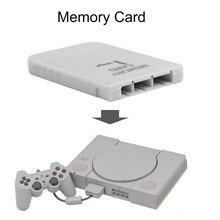 PS1 карта памяти 1 мега карта памяти для playstation 1 одна PS1 PSX игра Полезная практичная доступная белая 1 м 1 Мб Прямая поставка