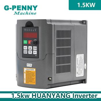 220V 1.5kw VFD Variable Frequency Driver cnc spindle motor driver speed control Inverter Input 1or 3HP 220V Output 3HP 220V !