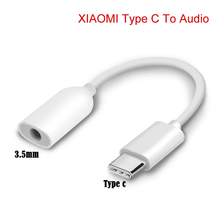 XIAOMI USB Type C to 3.5mm Headphone Jack AUX Audio Cable Adapter for Samsung LG Nexus Oneplus Nokia Huawei Type C Smart Phones