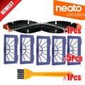 Escova do rolo + Filtro HEPA para Neato XV Assinatura Pro XV-11 XV-21 XV-12 XV-15 Combinação Curvo Escovas do Rolo de Substituição