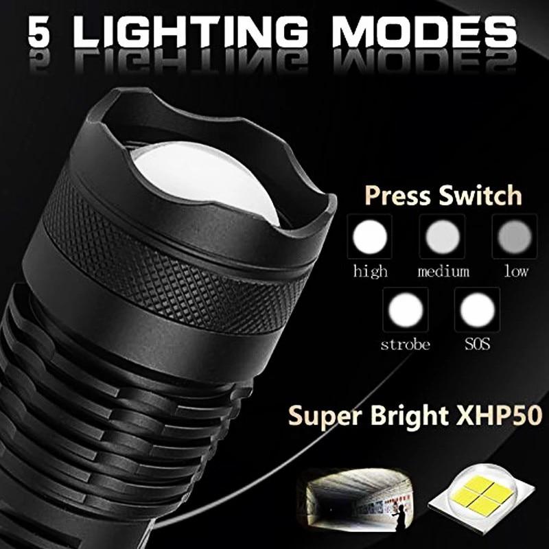 FalconLight High-Lumen Tactical Flashlight 2