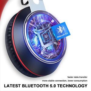 Image 3 - Oneodio سماعة رأس مزودة بتقنية البلوتوث فوق الأذن سلكية سماعة رأس بمايكروفون بلوتوث 5.0 سماعة ستيريو لموسيقى الهاتف