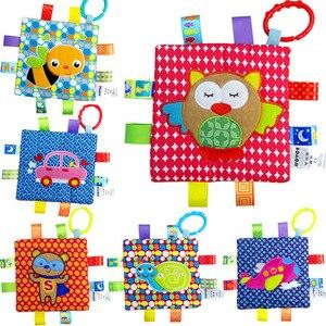Тканевая книга для детей, развивающие игрушки, 24 месяца, обучающие игрушки для детей, развивающие игрушки для детей, детские игрушки, игрово...