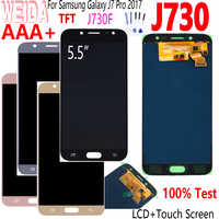 "Pantalla Weida 5,5 ""para SAMSUNG Galaxy J7 Pro J730 LCD para SAMSUNG J7 2017 pantalla MONTAJE DE digitalizador con pantalla táctil J730F pantalla"