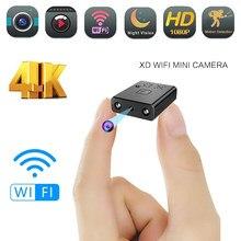Mini Wifi Cámara Full HD 4K 1080P seguridad videocámara noche visión Micro secreto Cam movimiento Detección de Video y sonido grabadora
