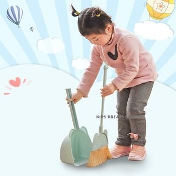 Mini udawaj materiały Montessori zagraj w miotłę zabawki kreatywność Deloping odkrywanie zdolność ładny dom czyste przedszkole dowiedz się zabawki tanie i dobre opinie CN (pochodzenie)