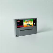 Super Marioed World All Stars 2D Land Omega Return to Dinosaur Land 3x   RPG Game Card EUR Version Battery Save