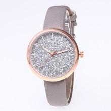 New Brand Female Clock Women Starry Sky Wristwatch Retro Ladies Quartz