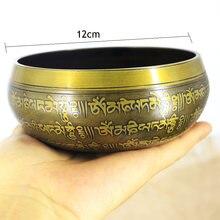 Новая Поющая чаша для Вера мантра занятий йогой с молотком подарок
