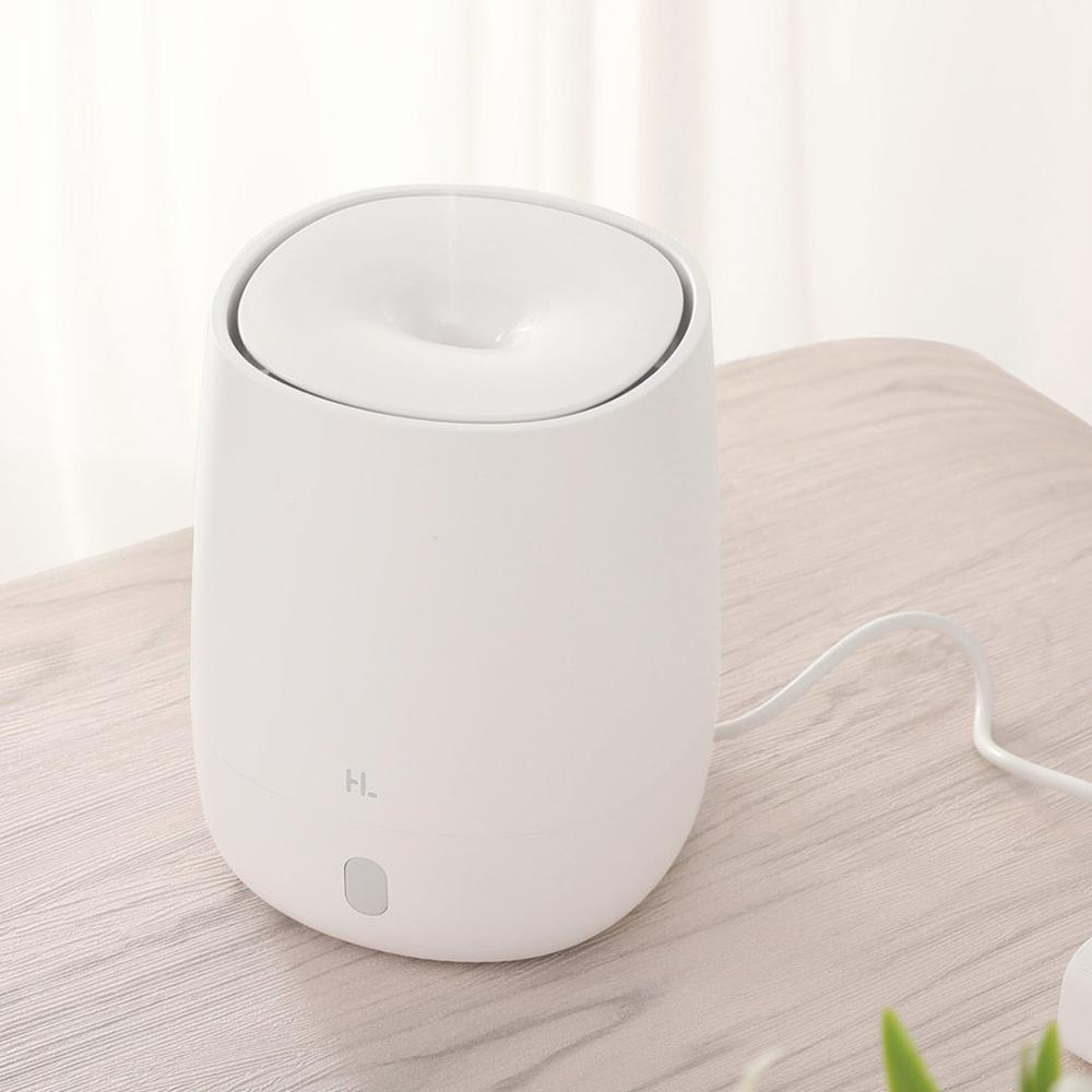 lowest price Original Xiaomi Mijia HL Portable USB Mini Air Aromatherapy Diffuser Humidifier Quiet Aroma Mist Maker 7 Light Color Home Office