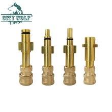 محول غسيل السيارة عالي الضغط G1/4 ، اتصال سريع ، محول إلى Karcher Lavor Interscol AR Bosche Blask & Deck Makita دايو