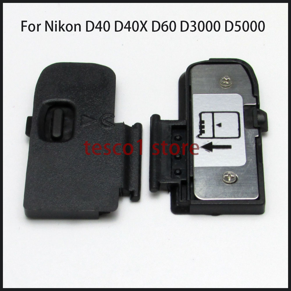 Brand New Original Battery Cover Door For <font><b>Nikon</b></font> D40 D40X <font><b>D60</b></font> D3000 D5000 Digital Camera Replacement <font><b>Parts</b></font> image