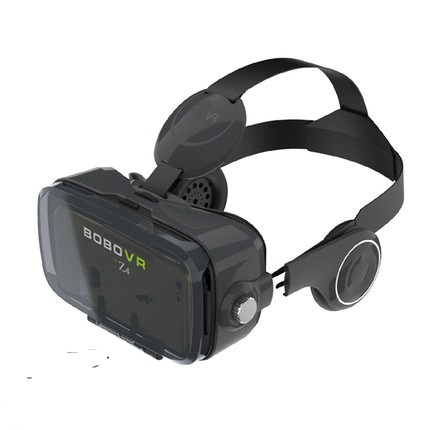 XiaoZhai bobovr z4 VR Виртуальная реальность 3D очки VR гарнитура VR шлем cardboad bobo коробка и Bluetooth контроллер - Цвет: Only Black VR