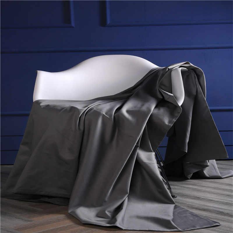ANNAs Coisa Boa Qualidade Legal do Ramo Têxtil de Casa Cetim 4pcs PureCotton Rei Da Cama Jogo de Cama Capa de Edredão Cor Sólida artigo