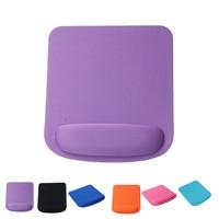 Alfombrilla antideslizante para ratón de 21x23CM, almohadilla de Gel para ratón suave a la muñeca, almohadilla protectora para ratón de juegos, para oficina y hogar