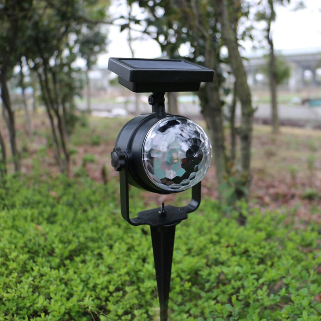 jardim luz rotativa lampada de projecao led 03